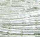 Glastuber / glasrör 6x15mm crystal
