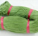 Vaxad bomullstråd 1mm ljusgrön